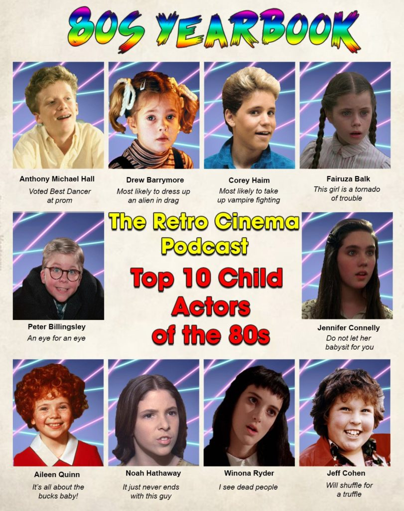 087 – Top Ten Child Performances | All Eighties Movies  All